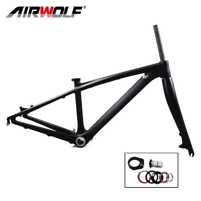 26er 14  carbon mountain bike frame 3K weave mtb bicycle frameset for kids