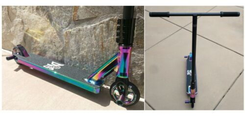 NUOVO DIS SLICK Blackout Pro Concorrenza completa Custom Freestyle Scooter