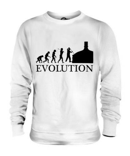 BEER BREWER EVOLUTION OF MAN UNISEX SWEATER MENS WOMENS LADIES GIFT BREWING