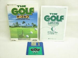 MSX-THE-GOLF-Msx2-2-3-5-2DD-Japan-Video-Game-1777-msx