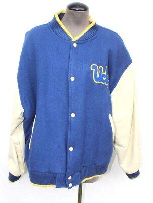 Vtg Authentic 1960s Ucla University Sport Wool Letterman