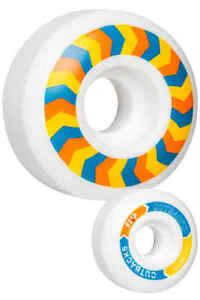 FLIP-SKATEBOARD-CUTBACK-99a-WHEELS-SET-OF-4-WHITE-HARD-AUSTRALIAN-SELLER