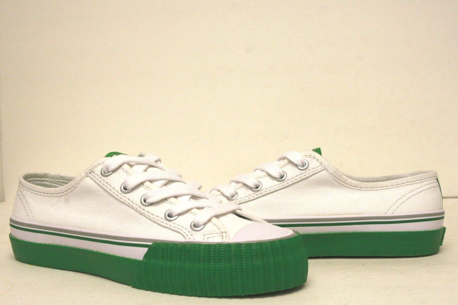PF Flyers Center Lo Reiss White Shoes MC1002E1 Mens4.5~8.5 Womens6~10 DEADSTOCK