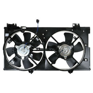 Radiator Cooling//AC Condenser Fan for 03-04 Mazda 6 2.3L