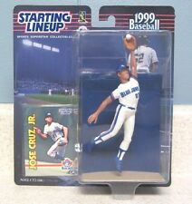 Starting Lineup 1999 MLB Toronto Blue Jays Jose Cruz JR Figurine,  baseball card