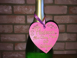 1-x-PINK-PROSECCO-HOW-CLASSY-PEOPLE-GET-SHITFACED-Shabby-Sign-Wine-Lover-Gift