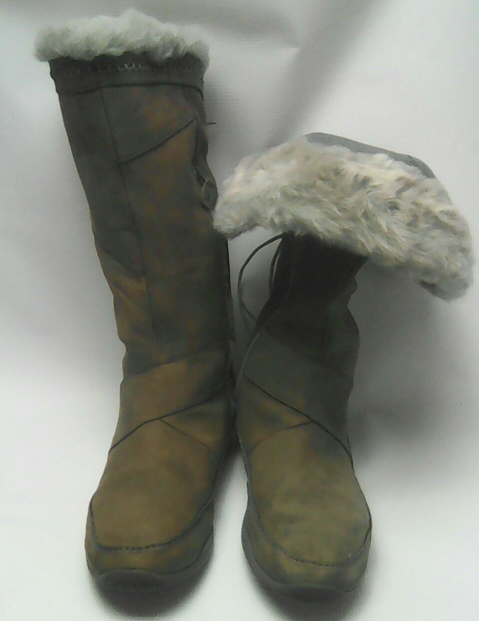 The North Face Brown Suede Primaloft Waterproof Insulated Boots Women's 8.5