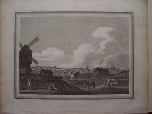France-Paris-South-Boulevard-Publication-Thomas-KELLY-Paternoster-Row-1816