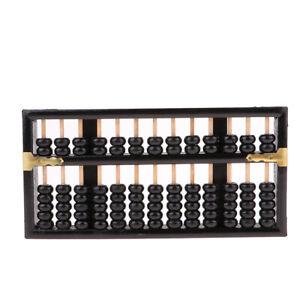 Vintage-chinesische-Holzperle-Arithmetik-Abacus-Rechner-zaehlen-Werkzeug