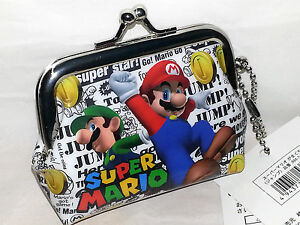 SUPER-MARIO-WALLET-COIN-HOLDER-GENUINE-NINTENDO-ORIGINALE-NUOVO-VBC-53025