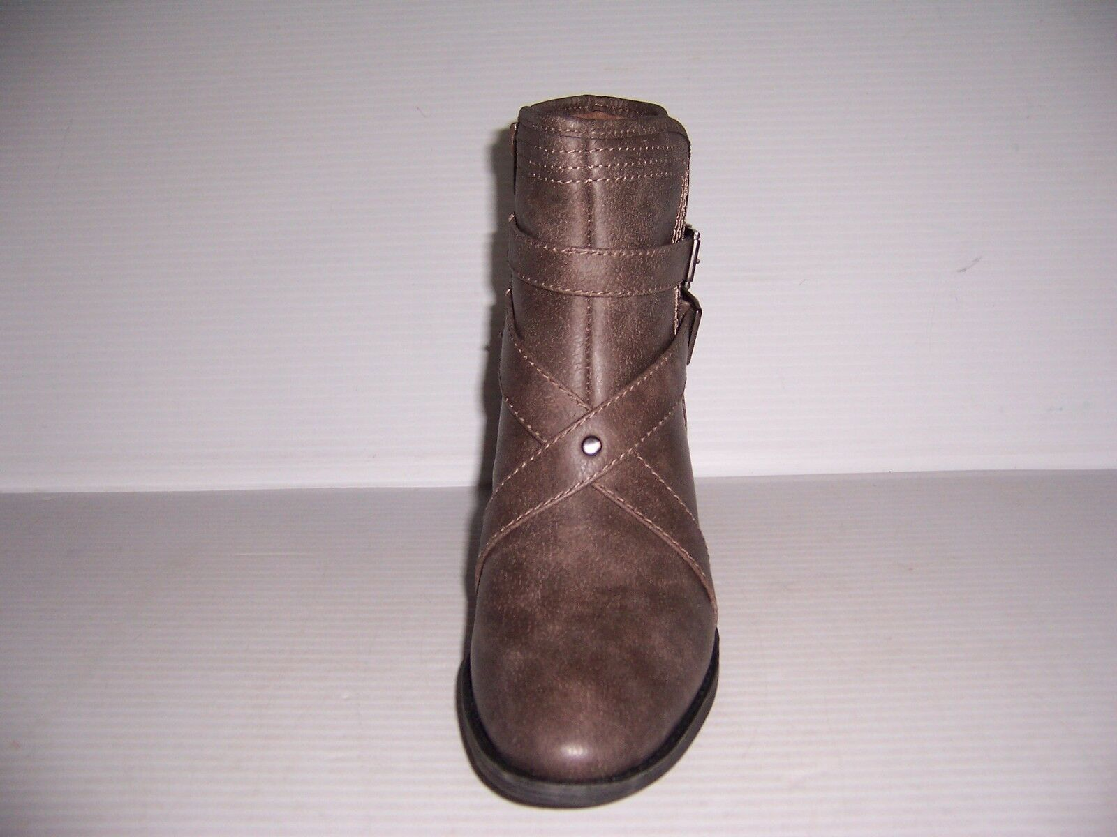 NaturalSoul by naturalizer Zela Women's Grey Booties Booties Booties Ankle Boots Size 7 NEW 60e0f5