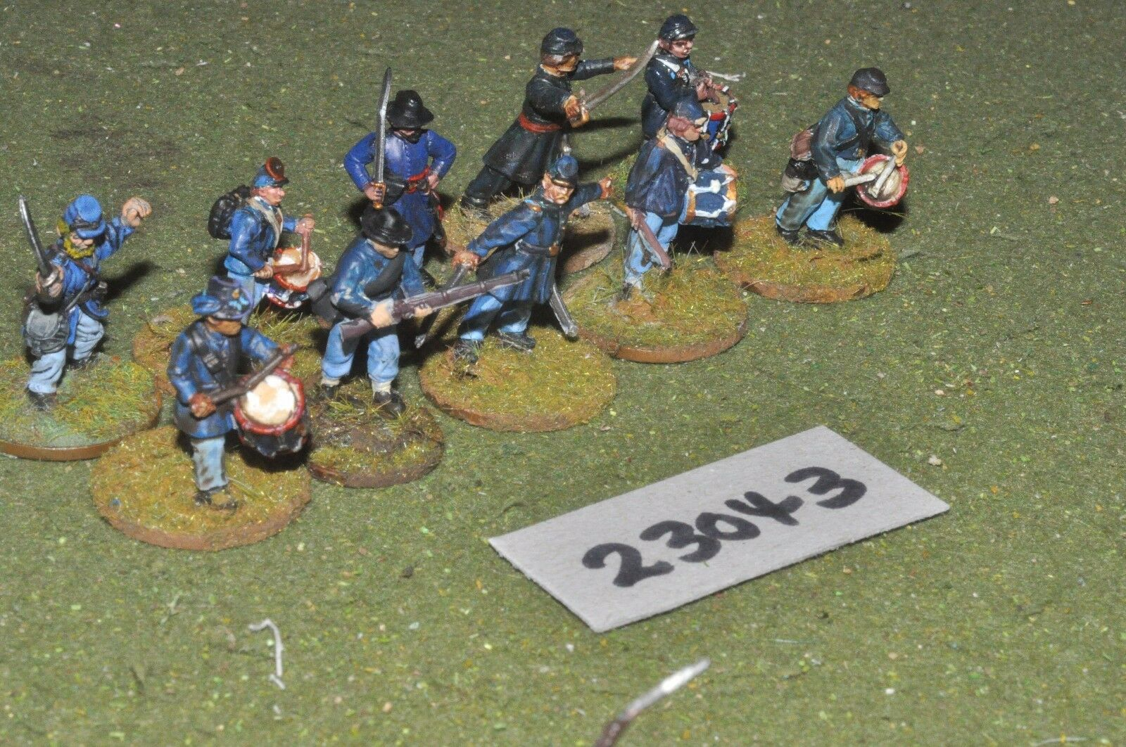 25mm ACW   union - markers 10 figures - inf (23043)