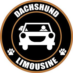 LIMOUSINE-DACHSHUND-5-034-DOG-STICKER