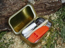 MD MINI ULTIMATE SURVIVAL/SAFETY EMERGENCY KIT IDEAL FOR BUSHCRAFT HIKING SCOUTS