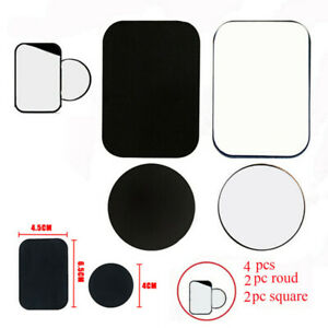 4Pcs-metal-plates-adhesive-sticker-replace-for-car-mount-phone-holder-S