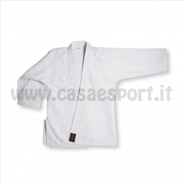 Divisa Judo CORSPORT cintura white arti marziali abbigliamento cotone 140 cm