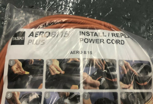 15 REPLACEMENT POWER LEAD TASKI AERO 8