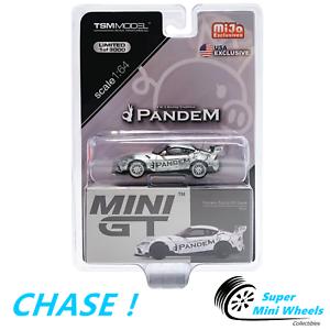 Chase! MINI GT 1:64 pandem TOYOTA SUPRA GR V1.0 (SILVER) #175
