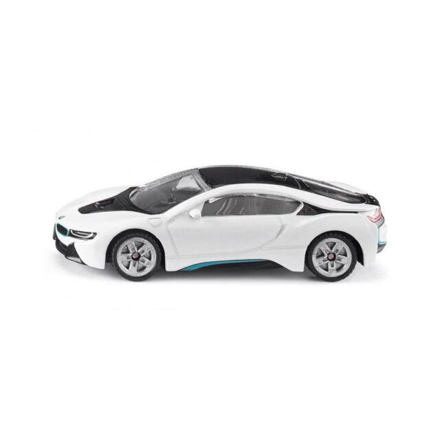 Siku 1458 BMW I8 White Model Car (Blister Pack) New! °
