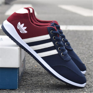 2017 New Men's Shoes Fashion Breathable Casual Canvas Sneakers running Shoes