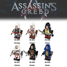2017 HOT 6 SETS Assassin's Creed MINI Building Blocks Lego Toys