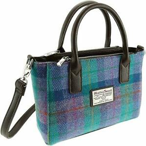 Authentic Harris Tweed Small Tote Bag   With Shoulder Strap   LB1228 COL 79