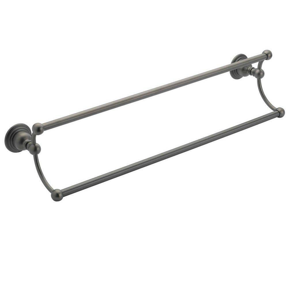 Belle Foret NDTBORB 24-Inch Double Towel Bar, Oil Rubbed Bronze