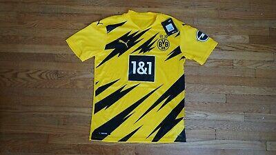 Puma Borussia Dortmund Home Jersey 2020 21 Size Small Ebay