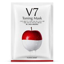 V7 Korean Vitamin Essence Face Mask Moisturizing Facial Mask For Beauty Makeup
