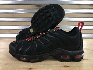 Nike Air Max Plus TN Ultra AR4234 002 Black University Red Volt Men's Shoes NEW!