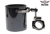 Motorcycle Atv Handlebar Mount Cup Holder - Carbon Fiber Motorcycle Cup Holder
