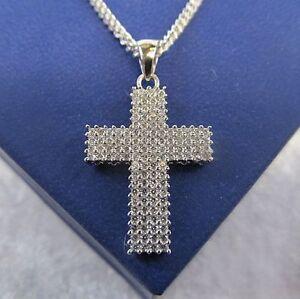 1-Kreuz-Anhaenger-Silber-925er-mit-116-Zirkonia