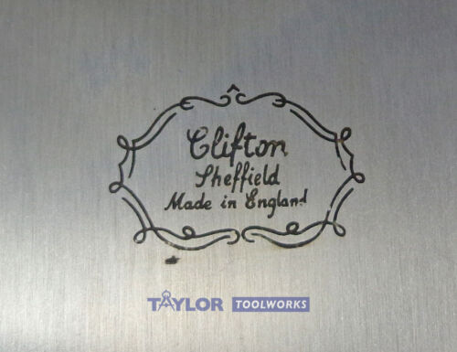 Cabinet Grattoir Set avec col de cygne Crown rectangle /& Courbé Made in UK