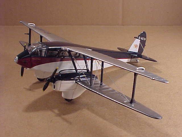 Oxford  72DR010 1 72 de Metal Havilland Dr89 Rapide, rojohmans Paracaidismo Liv