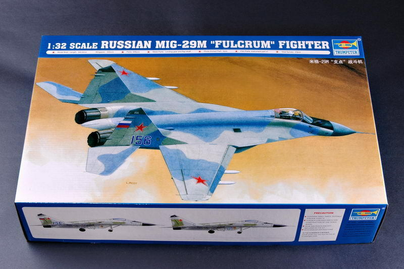02238 Trumpeter 1 32 Model Plane Russia MIG-29M Fulcrum Fighter Bomber Aircraft