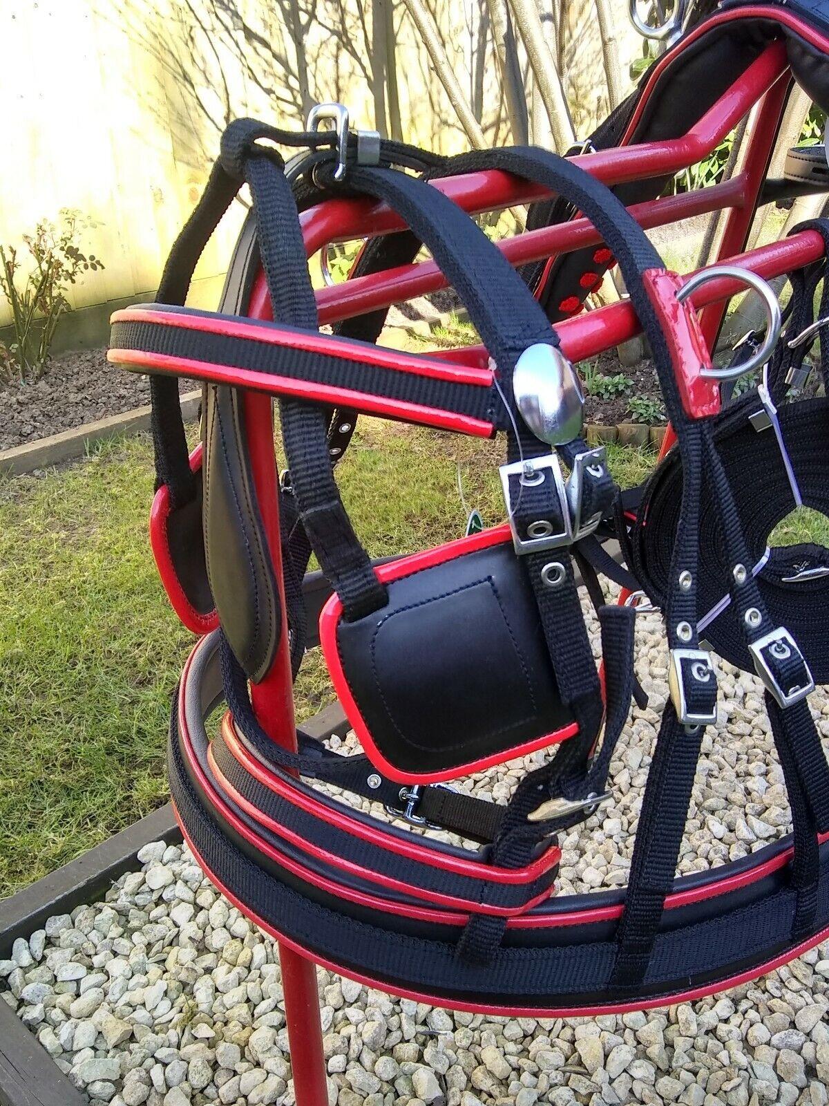 Shetland Größe Driving Harness, Webbing Harness.
