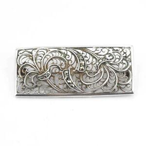 Wunderschoene-alte-Brosche-aus-Silber-mit-Markasiten