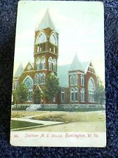 Early 1900's The Southern Methodist Church in Huntington, WV West Virginia PC