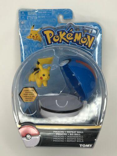 Great Ball Repeat Ball Brand New Sealed Pokemon Tomy Pikachu