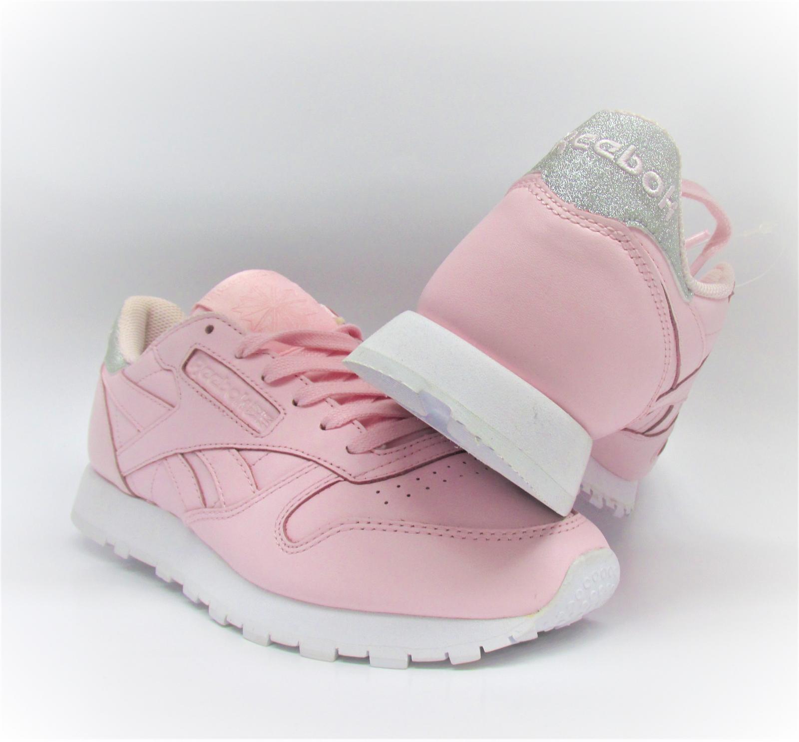 Damen Reebok Cl Lthr Turnschuhe met Diamant pink Leder Turnschuhe Lthr bs8892 c5c9e7
