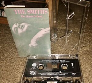 THE SMITHS CASSETTE TAPE THE QUEEN IS DEAD SIRE RECORDS ROUGH TRADE 1986 LOOK!!