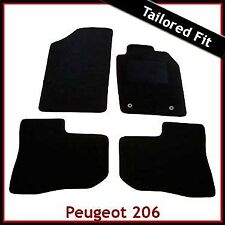 Peugeot 206 1998 - 2007 2008 2009 2010 2-Clips Tailored Fitted Carpet Car Mats