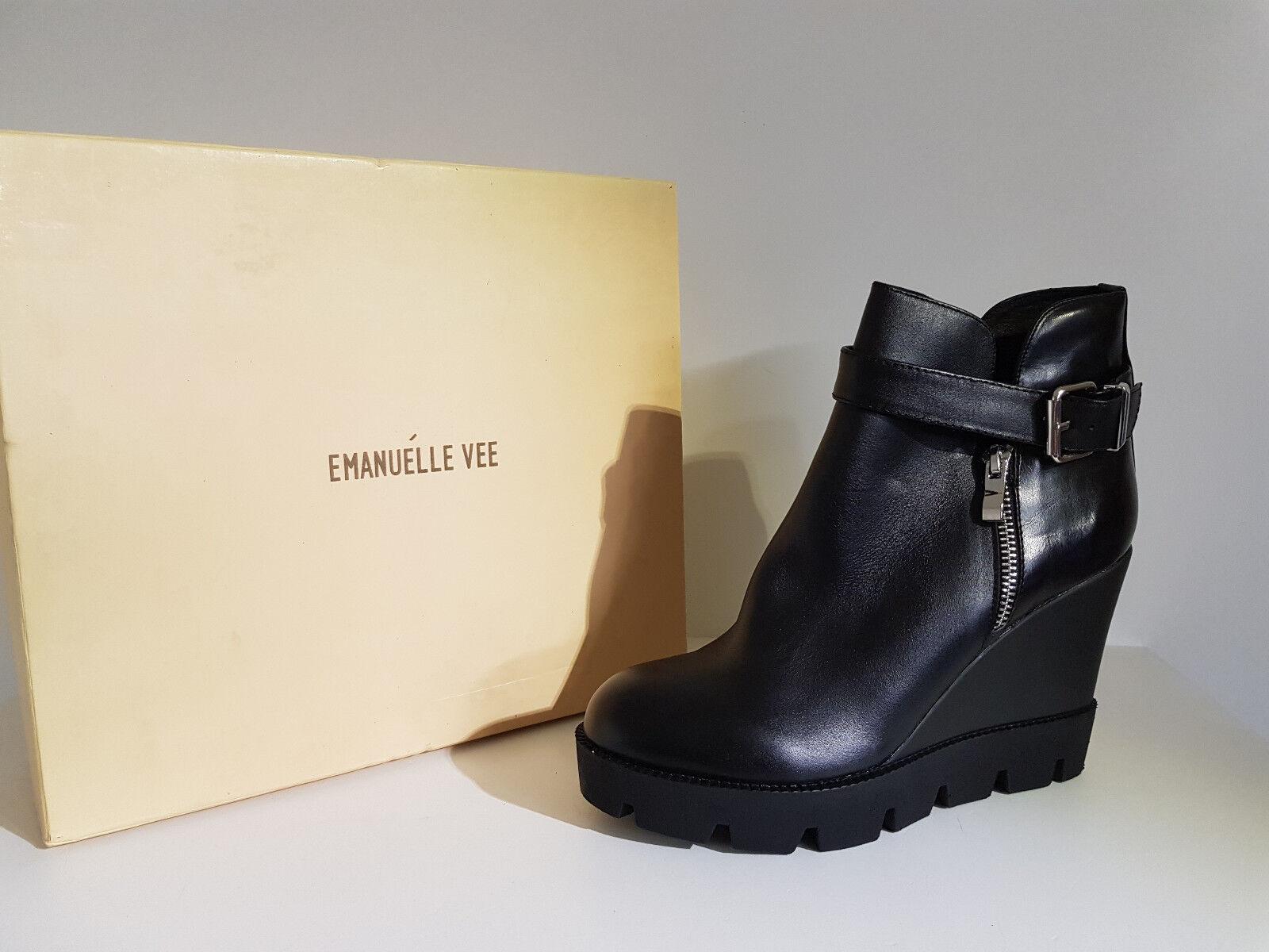 Zapatos promocionales para hombres y mujeres Stivale Donna Emanuelle Vee .Sconto -55 % Art.452-719V5 Col.Nero