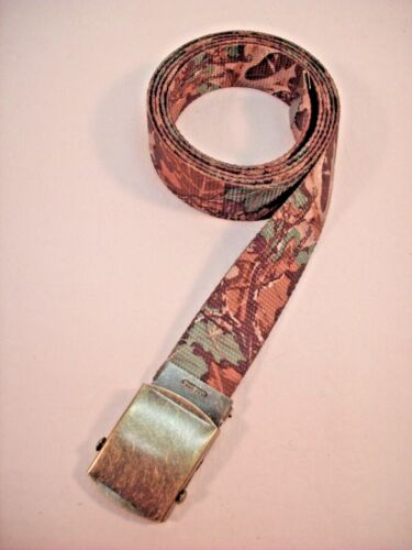 """New 1.25/"""" x 48/"""" Made in the USA Men/'s Advantage Camouflage Cotton Belt"""