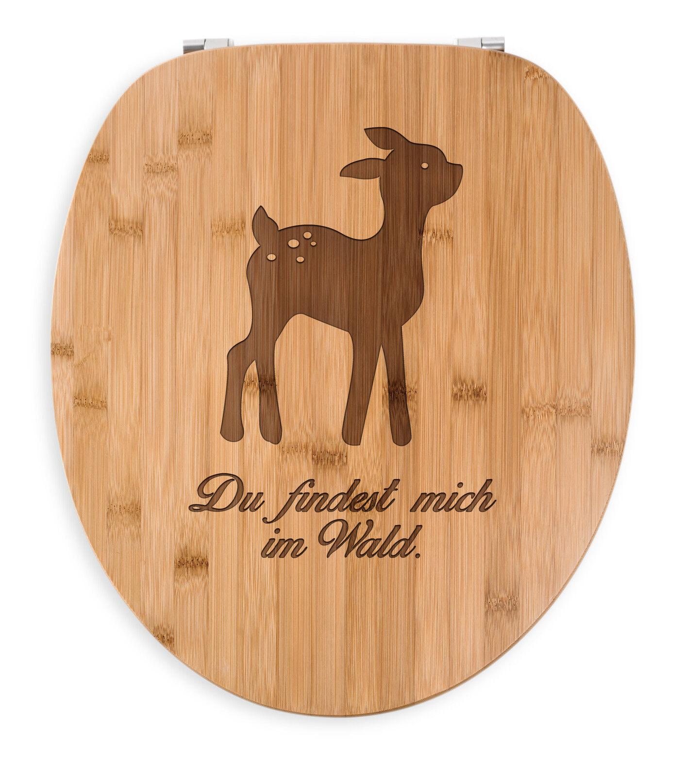 WC Sitz Reh -  WC, Sitz, Klobrille, Toilettensitz, Klodeckel, Toilettendeckel...