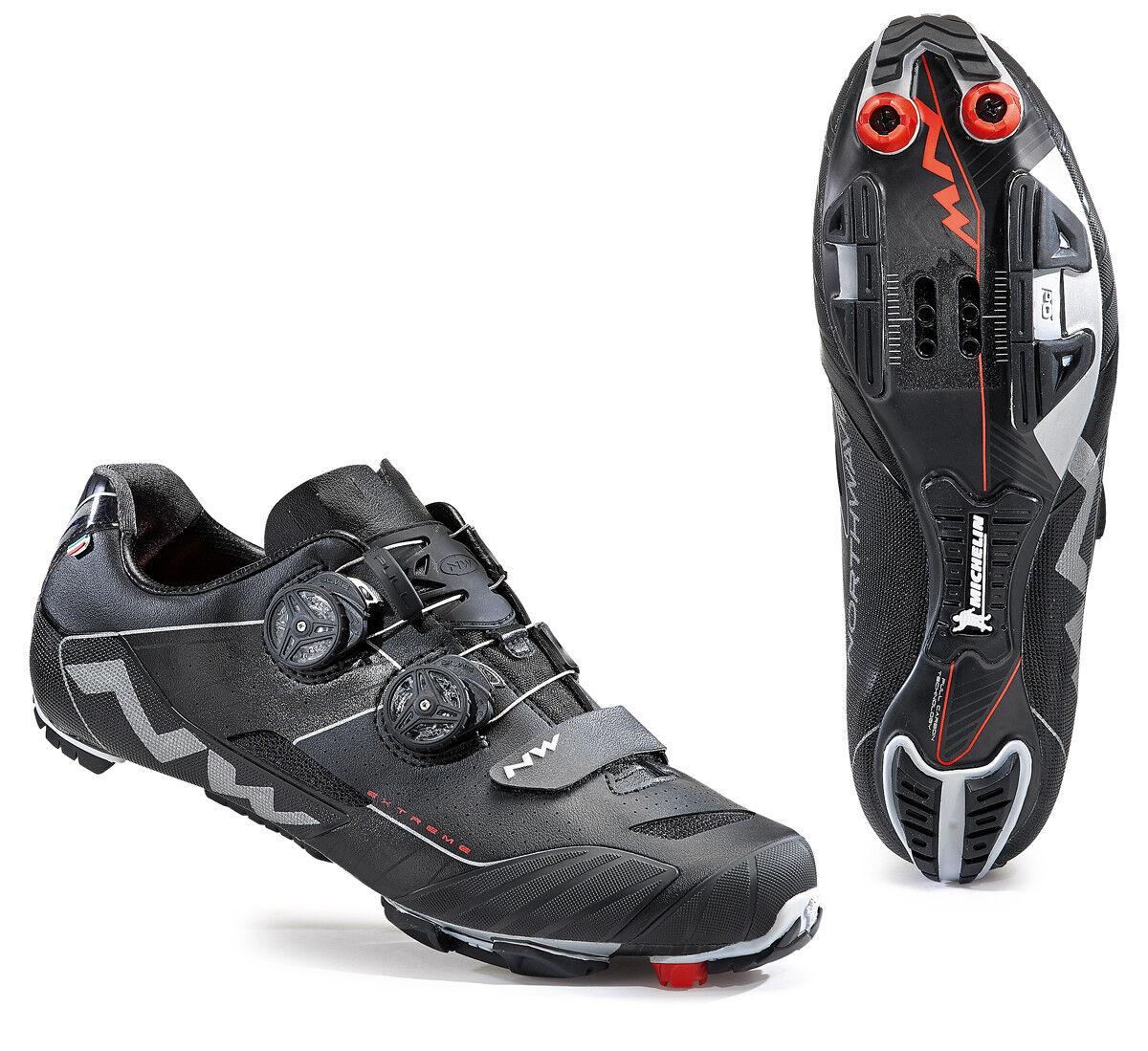 Northwave Extreme XC Wide MTB bicicleta zapatos negro 2018