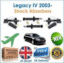 Para Legacy IV 2.0 2.5 3.0 R 2003- Delantero Y Trasero Amortiguadores + Topes