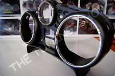 Para Peugeot 207 207 SW Cromo Dial Calibre Anillos recorte rodea Aleación Pulido Nuevo