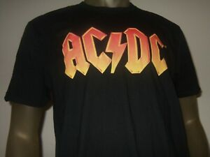 ACDC AC DC Rock Band Classic WORN LOGO Licensed Dickies Work Shirt All Sizes