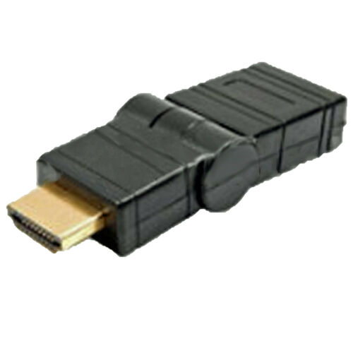 Gold Plated HDMI Turnable Swivel Rotatable Adapteur Female to Male Plug Coupler